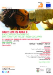 Mostra fotografica sulla vita degli abitanti dei villaggi della Palestina