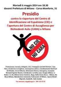 Presidio contro la riapertura del Corelli a Milano