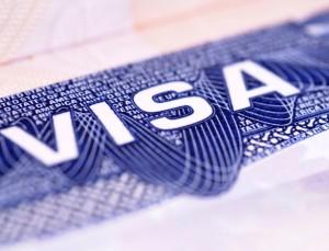 Um visto obrigatório
