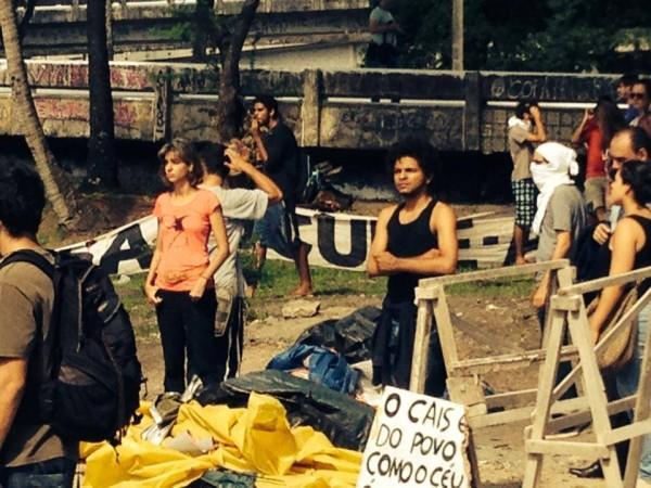 #OcupeEstelita: Socorro, mas não corro!
