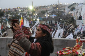 Inti Raymi, nuevo ciclo: El Año Nuevo de los pueblos originarios fue celebrado por la Tupac Amaru