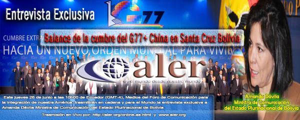 Entreista_Bolivia_G77-ALER