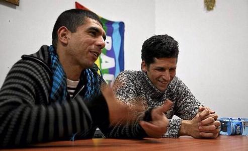 (Id) Sulamain Khatib y Avner Wishnitzer de Combatientes por la Paz