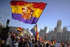 Espagne: des manifestations en faveur de la IIIe République
