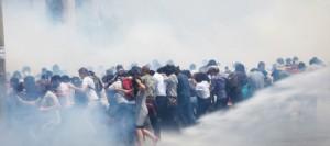Demonstranten vor Gericht, Polizisten ungestraft