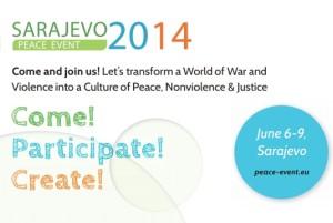 Mehr Friedensaktionen sind notwendig – Peace Event Sarajevo 2014