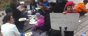 Power to the people: Antirassistische Demo zum Flüchtlingstag in Bern