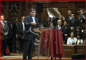 Rafael Correa : La crise européenne et l'Empire du Capital, leçons à partir de l'expérience latino-américaine