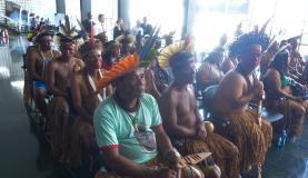 Movimentos indígenas denunciam perseguição política no Brasil; Estado nega