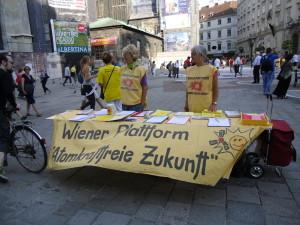 Widerstand gegen Atomwaffen – Hiroshima Tag in Wien