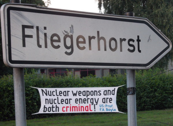 Abzug statt Modernisierung der US-Atombomben in Büchel
