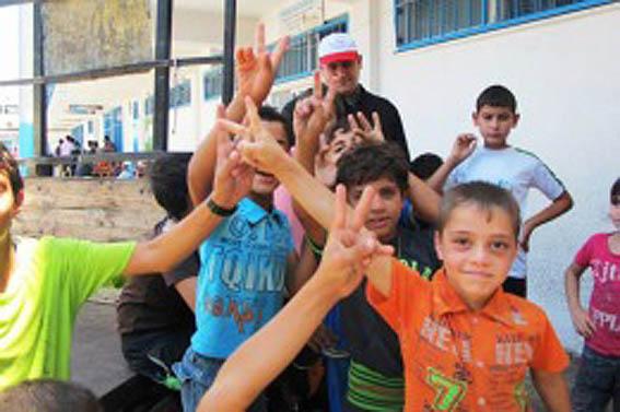 Al menos medio millón de chicos, afectados por el cierre de escuelas en Gaza