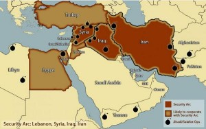 """""""Security Arc"""" forms amidst Middle East terror"""