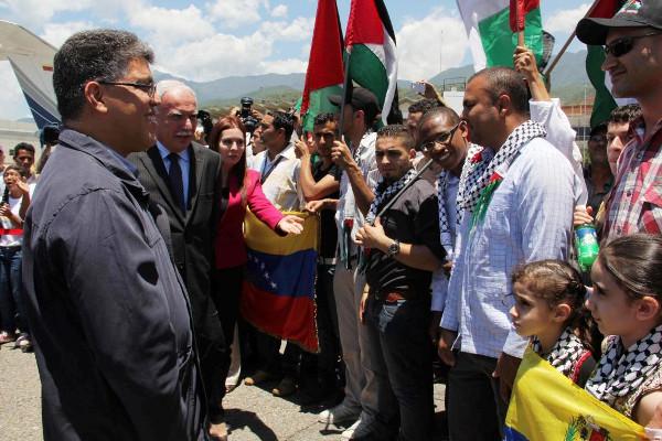 """Au Venezuela et en Amérique Latine """"nous sommes tous la Palestine""""."""