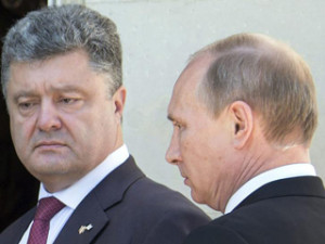 Putin and Poroshenko Conclude First Face-to-Face Talks