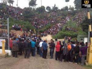 Guatemala: Organizaciones indígenas protestan contra la militarización