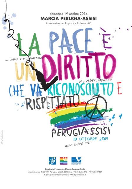 Il Movimento Nonviolento sulla Marcia Perugia-Assisi 2016