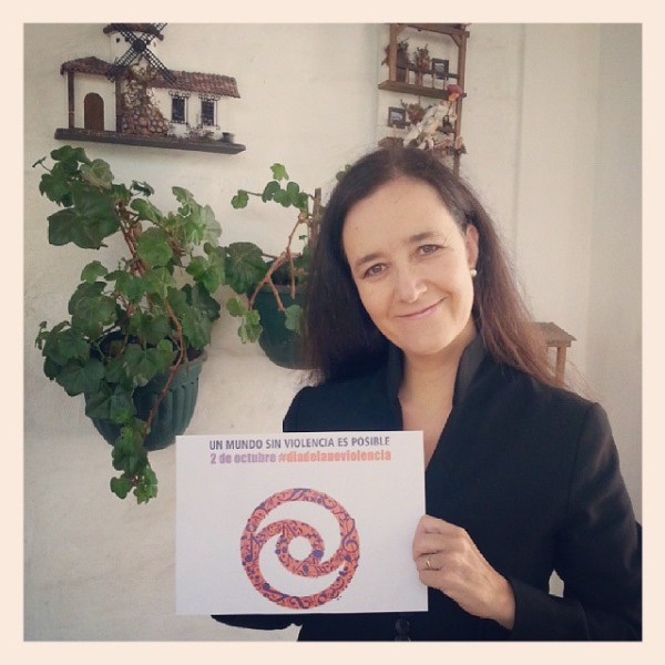 Margarita Laso joins World Day for Nonviolence