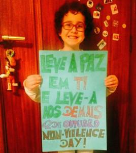 Campanha 02 de outubro – O Dia da Não-Violência