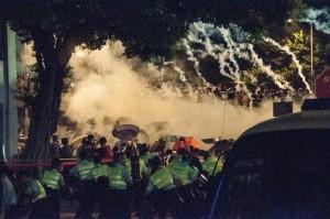 Hong Kong's Regenschirm Revolution