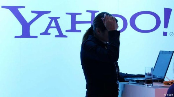 Yahoo acusa Washington de pressionar para obter dados de clientes