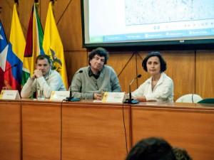 Three books, three authors in Andina Simón Bolivar University, Ecuador