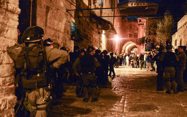 Gerusalemme Est, il dimenticato arsenale palestinese sempre sul punto di esplodere