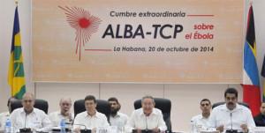 L'ALBA se mobilise face au virus Ebola