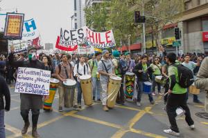 Chile: «Marcha de estudiantes»