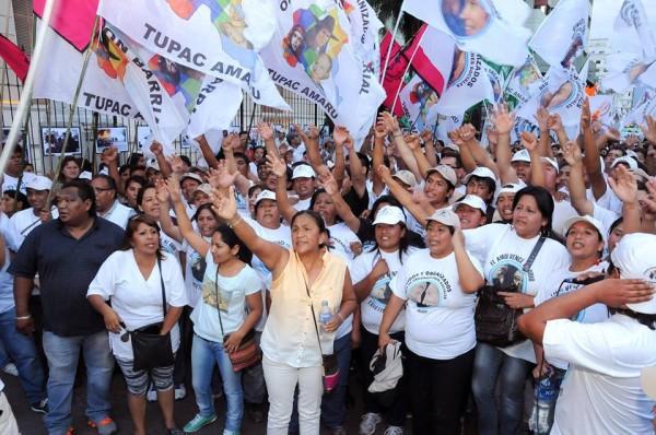 Freiheit für Milagro Sala