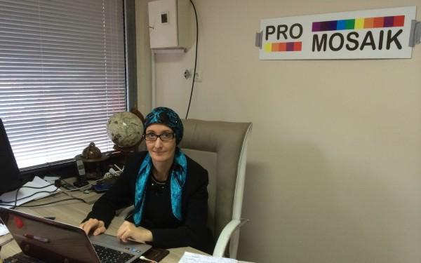 Milena Rampoldi in sede Promosaik