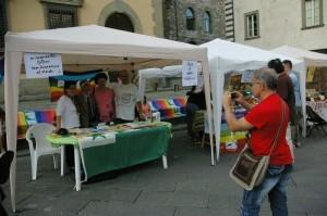 ART-11 ha celebrato la Giornata della Nonviolenza a Pistoia