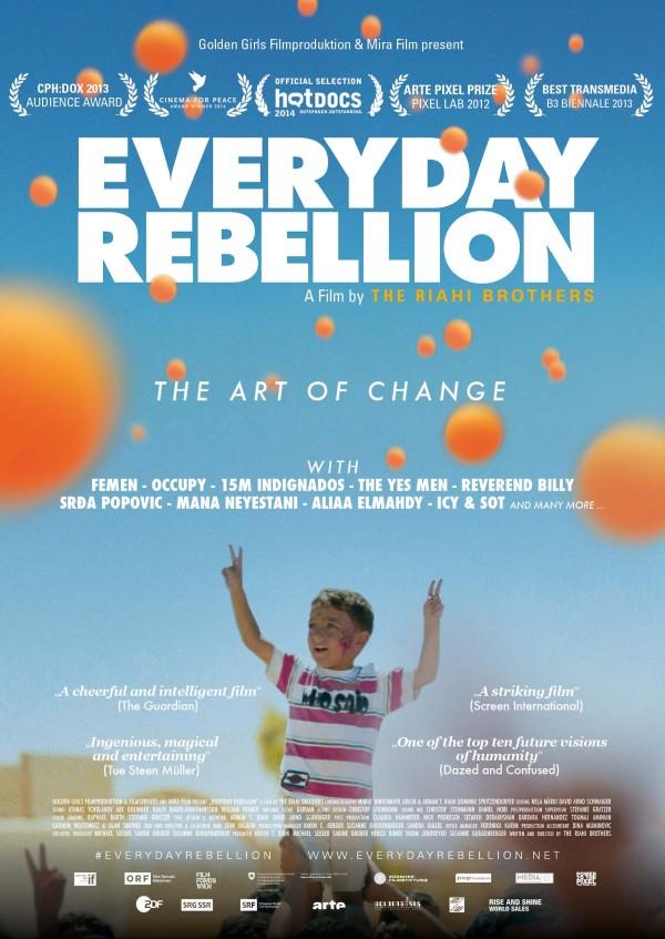 Die kreative Kraft der Gewaltlosigkeit : Ein Interview mit den Regisseuren von «Everyday Rebellion»