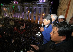 Evo Morales reeleito presidente da Bolívia