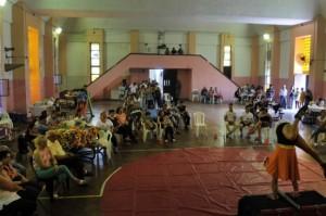 Unidad de mujeres de Ezeiza celebró su festival de la familia