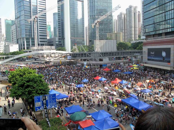 The Umbrella Movement and Democracy in Hong Kong