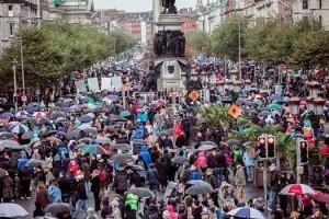 Hunderttausende protestieren in Irland erneut gegen Wassersteuer