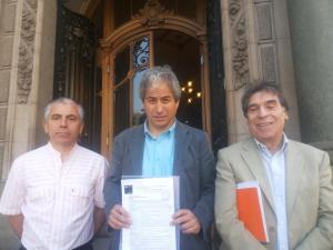Gran marcha nacional docente en Santiago, Chile