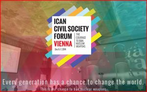 Conférence Impact humanitaire des armes nucléaires – Autriche – Décembre 2014