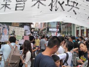 Hong Kong: Sechzig Tage und es ist D'Occupy Day