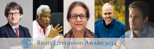 Right Livelihood Awards in Stockholm: Recipients send strong messages on surveillance, human rights & climate change