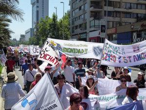 Exitosa y multitudinaria Marcha Nacional por la Dignidad Docente