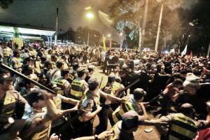 Governo Alckmin e PM paulista faltam a audiência sobre atuação em protestos