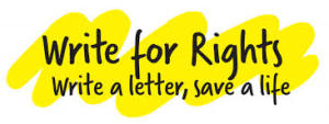 """Amnesty lancia """"Write for Rights 2014"""""""