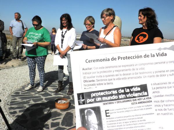 """Presentación Movimiento de Mujeres """"Protectoras de la Vida por un Mundo Sin Violencia"""""""