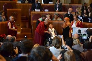 Bertolucci riceve il Peace Summit Award 2014