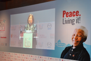 The Nobel Laureates Summit: Mairead Maguire interview