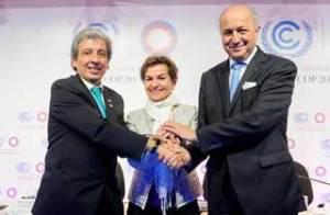 Changement climatique: la France et le Pérou pour un accord contraignant