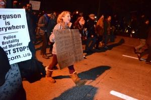 A New York manifestazioni contro il sistema