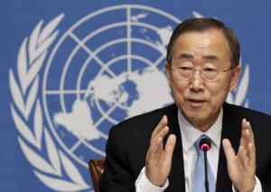 Iniziata visita Ban Ki-moon nei paesi dell'Ebola